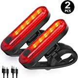 Seenda <b>LED</b> Bike <b>Rear</b> Lights USB <b>Rechargeable</b>, <b>Waterproof</b> Bike ...