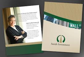 flyer template for investment and professional firms order custom investment and professional firms flyer design layout