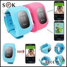 kids tracker wrist watch sos anti lost mobile phone app bracelet smart watchband