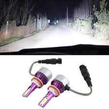 Fydun <b>C6 LED Headlight</b> 1 Pair <b>Car</b> LED Bulb Headlamp 6500K ...