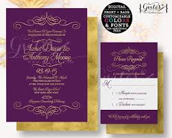 28 best paisley wedding invitations images on pinterest paisley Purple Gold Wedding Invitations purple & gold wedding invitation customizable invites gold cheap purple and gold wedding invitations