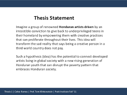 Personal Essay Thesis Statement Personal Responsibility Essay Thesis Statement And Informal Outline How To Write A