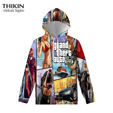 2019 <b>THIKIN Grand Theft</b> Auto Game GTA 5 Autumn Winter ...