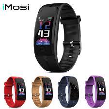 <b>Imosi Smart bracelet QS100</b> Fitness tracker Color screen smart ...