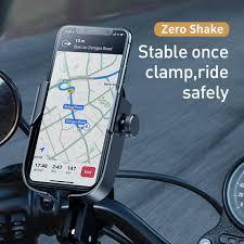 EN <b>Baseus Armor Motorcycle</b> Mobile Phone <b>Bracket</b> Tool-free ...