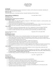 sample resume business development manager