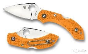 <b>Нож складной</b> Spyderco <b>Dragonfly</b> 2 Orange купить в Санкт ...
