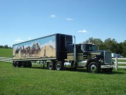 1950 s kenworth workhorse peterbilt kenworth and more smokey and the bandit tribute truck a 1973 kenworth and 1977 hobbs trailer trailer