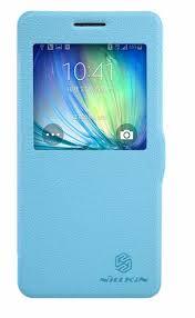 <b>Чехол</b>-<b>книжка Nillkin Fresh</b> для Samsung Galaxy A5 blue - купить в ...