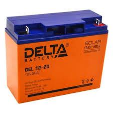 <b>Аккумуляторная батарея Delta</b> GEL 12-20 — купить в интернет ...