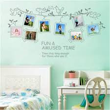 chic large wall decorations living room: amazing photo frame chic stickers pvc cmcm diy removable posters large wall decoration gifts