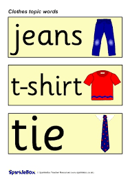 <b>Clothes</b> Topic Primary Teaching Resources and Printables ...