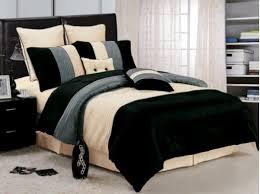 black luxury stripe comforter set queen size bedding furniture bedroom bedding for black furniture