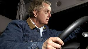 lindsey graham struggling to stay awake while driving empty lindsey graham struggling to stay awake while driving empty campaign bus overnight to next event