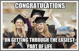 Funny Graduation Quotes, Greetings, Meme and Captions | Cute ... via Relatably.com