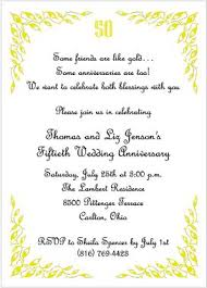 quotes for 50th anniversary invitations | ... of golden jubilee ...