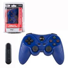 TTX Tech <b>PS3 Wireless Controller</b> Compatible With <b>Playstation 3</b>, Blue