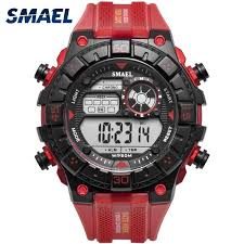 Red Army <b>Watches</b> Big Dial <b>SMAEL Men Watch Digital</b> Sport <b>Watch</b> ...
