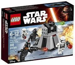 <b>Конструктор LEGO</b> Star Wars 75132 <b>Боевой набор</b> Первого Ордена