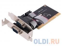 <b>Контроллер ORIENT</b> XWT-PS050V2LP, <b>PCI</b> to COM 2-port Low ...