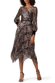 Floral Lace Pleated <b>Dress</b> by <b>NISSA</b> for $70 - $80 | Rent the Runway