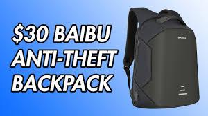 $30 <b>Baibu Anti</b>-Theft <b>Backpack</b> Review! - YouTube