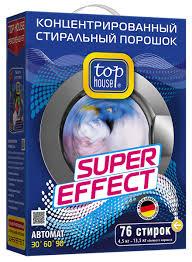 """<b>Стиральный порошок Top House</b> """"Super Effect"""", концентрат, 4,5 кг ..."""