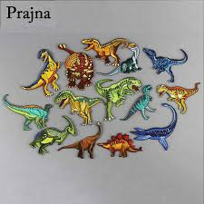 <b>Prajna Jurassic Park</b> Dinosaur Embroidered <b>Patch</b> Clothing ...