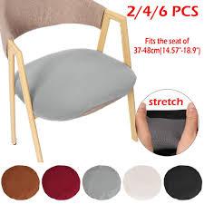 2/4/<b>6 PCS</b> Stretch Removable Washable Dining Room <b>Chair</b> Seat ...