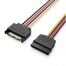 <b>Кабель питания Vention</b> SATA 15 pin M/SATA 15 pin F | SATA ...