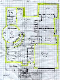 Floor plan GNow we    ve got three bedrooms  two ways into the kitchen  plenty of loops to walk babies in  a walk in pantry  a big table in the laundry room