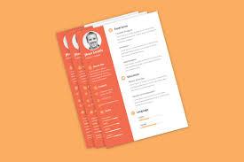 cv templates photoshop bie clean cv resume template