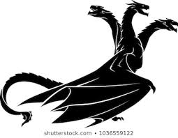 <b>Three Head</b> Dragon Images, Stock Photos & Vectors | Shutterstock
