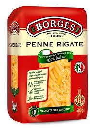 Купить <b>Borges</b> Макароны Penne Rigate, <b>500</b> г по низкой цене с ...