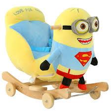 Kingtoy <b>Plush Baby</b> Rocking Chair <b>Children</b> Wood Swing Seat <b>Kids</b> ...