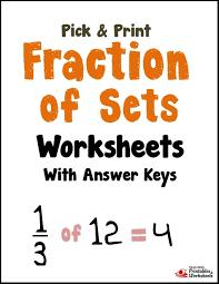 Fractions Of A Set Worksheets 3rd Grade - Fraction Practice Find 1 ...Math Worksheet : Fractions Of A Set Worksheets Grade 3 Veruz Fractions Of A Set Worksheets