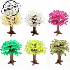 MARUMINE Building Bricks Tree Toys 343PCS Plant Accessories ...