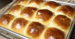 Old School Cafeteria-Style Yeast Rolls - Deep South Dish