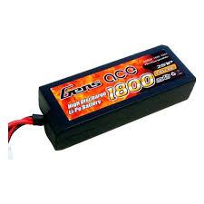 <b>Аккумулятор</b> GENSACE <b>Li</b>-<b>Po</b> - <b>7.4</b>В 1800мАч 30C (2S, Tamiya ...