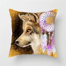<b>Fuwatacchi</b> Cute Dogs <b>Cushion</b> Covers Dog Couple <b>Pillow</b> Covers ...