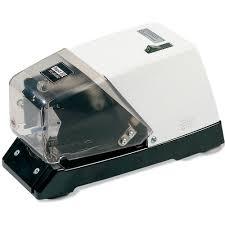 <b>RAPID 100E</b> CLASSIC ELECTRIC STAPLER BLACK/WHITE   MOE ...