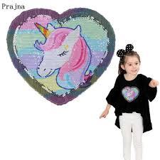 Online Shop Prajna <b>Unicorn Patches</b> Reversible Change Color ...