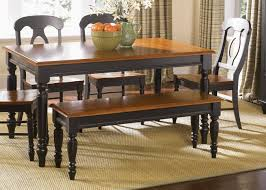 Square Kitchen Table With Bench Kitchens Vintage Style Kitchen Table With Bench Seat And Chairs