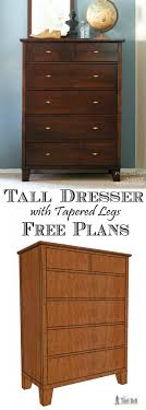 tall bedroom drawers