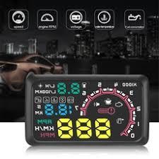 <b>5.5 inch W02 LED</b> Car Head Up Display Interface Plug/Play Speed ...
