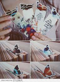 Diy butterfly <b>bookmarks</b> :) | Crafts & DIY | Diy <b>bookmarks</b>, <b>Creative</b> ...