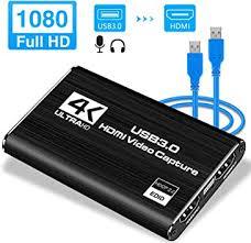 LEADNOVO Audio Video <b>Capture</b> Card, HDMI USB3.0 <b>4K 1080P</b>