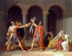 jacques louis david oath of the horatii second version 1786