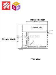 <b>AIOT Espressif SoC ESP8266</b> WiFi module <b>ESP</b> WROOM 02D ...
