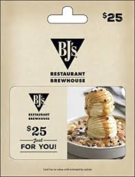 Amazon.com: BJ's Restaurant Gift Card $25